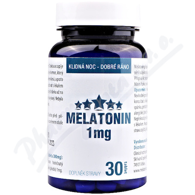 Melatonin 1mg tbl.30 Clinical